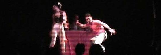 music & sound making for Manifeste Rien in Le Théâtre Vitez, Aix en provence, 2000