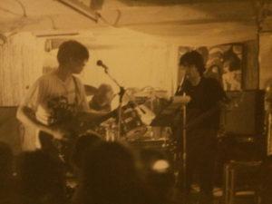 photo prise dans notre salle de répé de degoreland en 1999