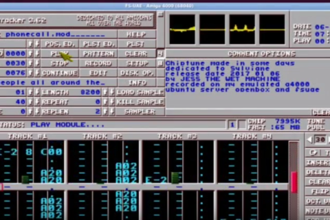 Crying Chips – chiptune – chip music – protracker module sur youtube