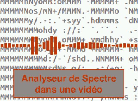 Incruster un analyseur de spectre dans une vidéo (sans After effect) sous Windows, Linux, Mac OS X Sierra, High Sierra & Mojave